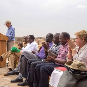 Highlights of US Ambassador Robert Godec's visit to AVCD sites in Turkana County