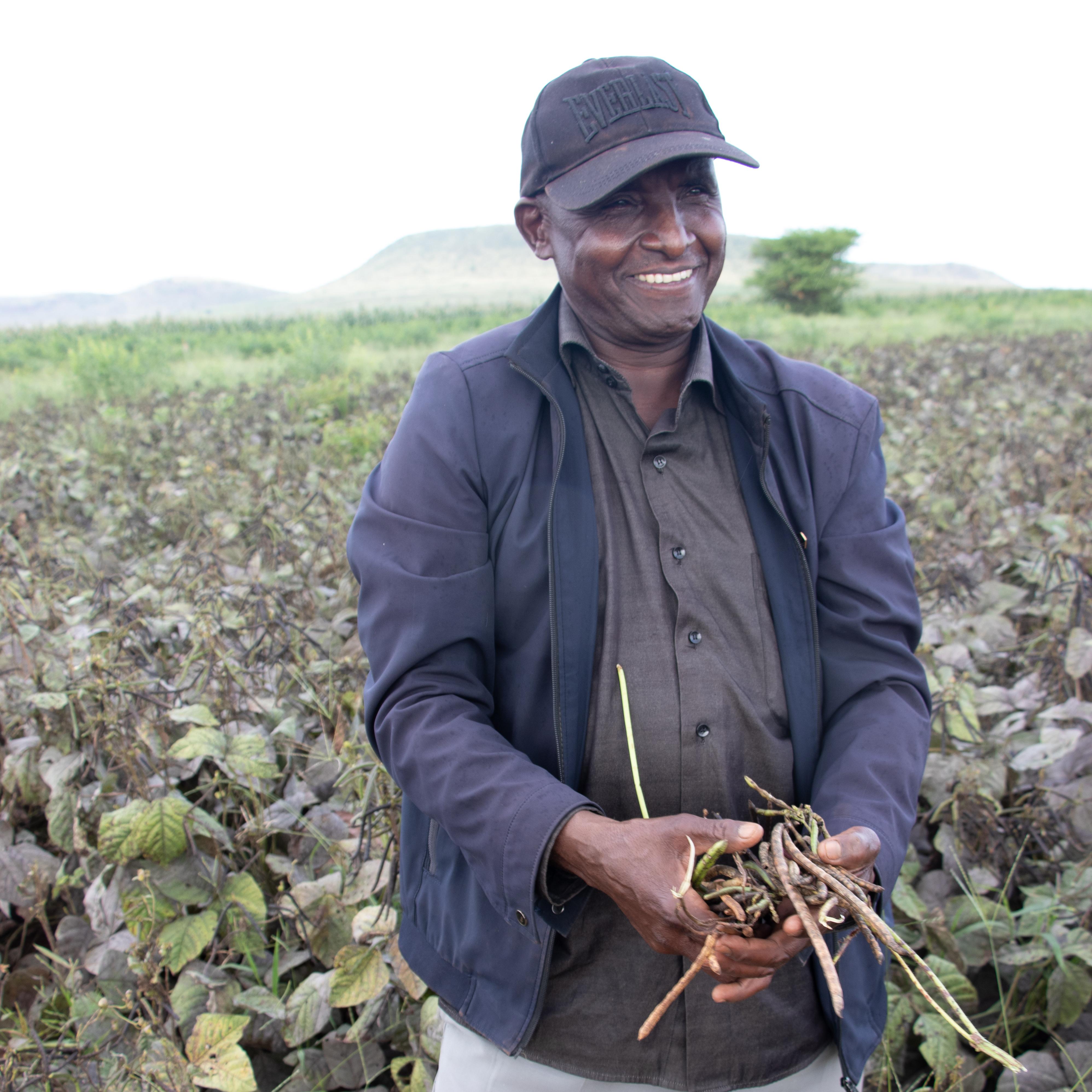 Drought tolerant crops farmer in Makueni County